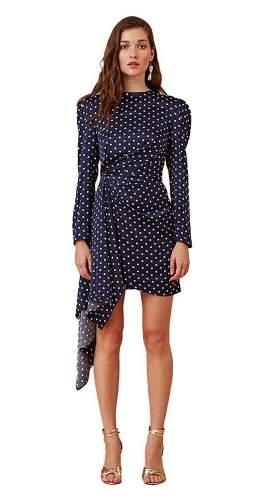 Keepsake The Label Polka Dot Foolish L/S Mini Dress