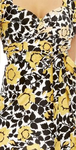 Talulah Fields Of Gold Mini Dress