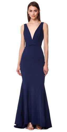 Jarlo Freida Navy Maxi Dress