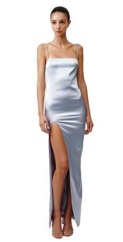 LEXI Estel Dress In Silver