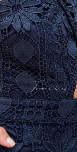 TwoSisters The Label Isabella Dress In Navy