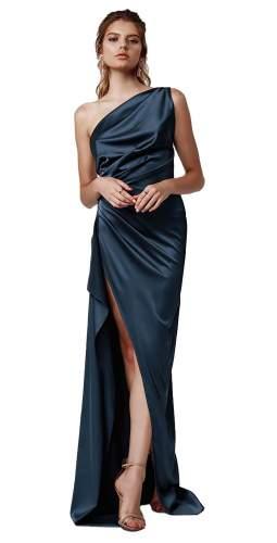 LEXI Samira Blue Maxi Dress