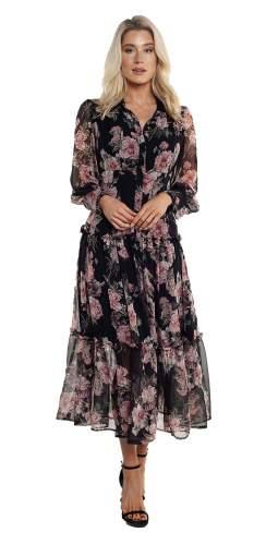 Bardot Navy Floral Dress