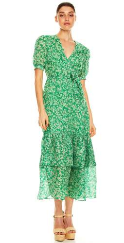 Talulah Green With Envy Midi Dress