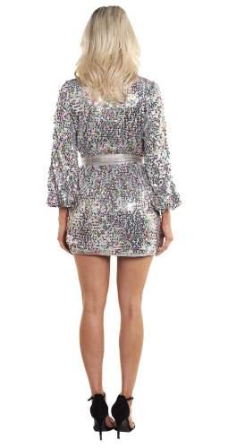 Saylor Val Wrap Dress
