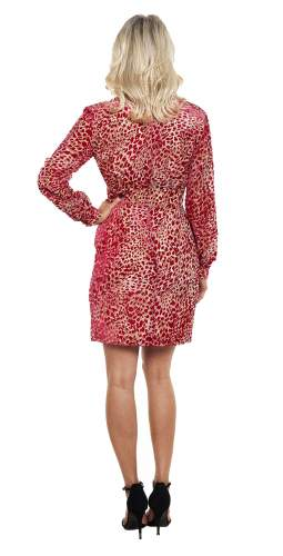 French Connection Adelma Devore L/S Dress