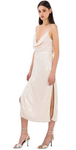 Misha Champagne Devon Dress