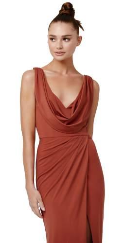 LEXI Terracotta Naida Dress