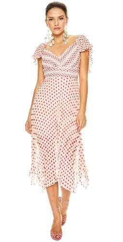 Talulah Fuchsia Spot Power Of Love Midi Dress