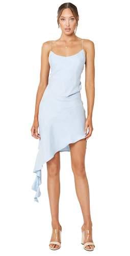 Winona Blue Mezzo Asymmetrical Dress