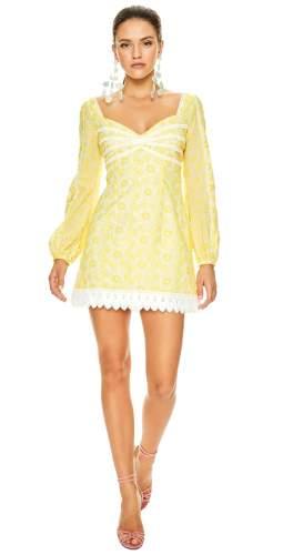 Talulah Yellow Margarita Mini Dress