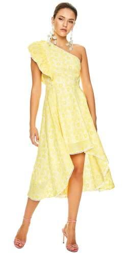 Talulah Yellow Margarita Midi Dress