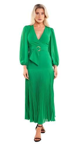 Bardot Emerald Daytona Dress