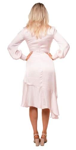 Bardot Pink Rose Sofie Midi Dress
