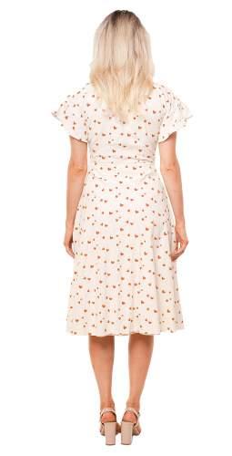 Seven Wonders Sweetheart Print Midi Dress