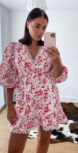 Talulah Red Daisy Dance & Romance Mini Dress