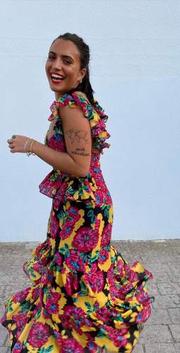 Talulah Floral Barcelona Bloom Midi Dress