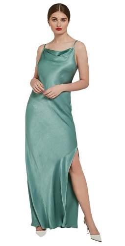 Ghost Green Stella Maxi Slip Dress