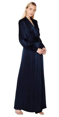 Ghost Navy Becky Maxi Dress