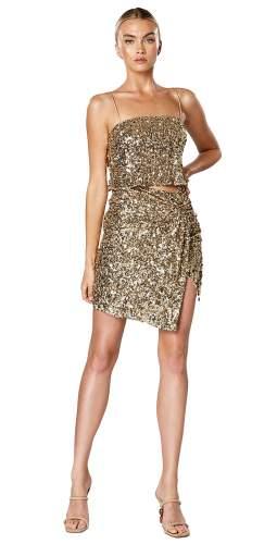 Winona Gold Thrill Knot Dress