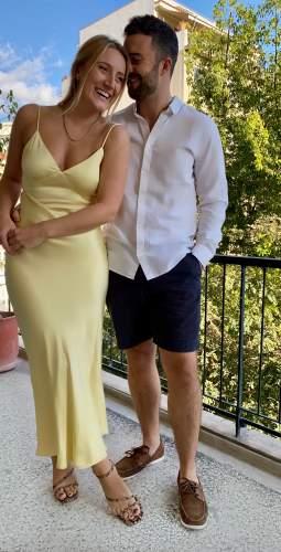 Bardot Yellow Malinda Slip Dress