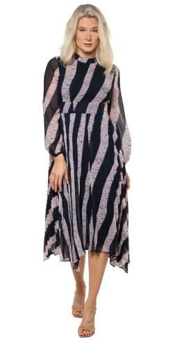 Whistles Shibori Print Dress