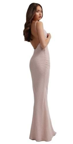 LEXI Pink Cleo Maxi Dress