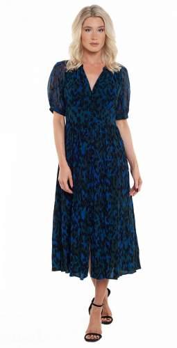 French Connection Inari Mix Printed Midi Dress