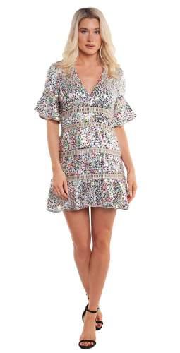 Saylor Muireann Mini Dress