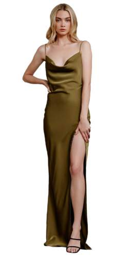LEXI Olive Alika Maxi Dress