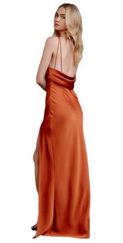 LEXI Rust Miranda Maxi Dress