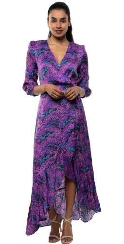 Panambi Purple Bali Midi Dress