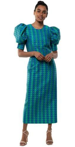 Panambi Green Print Siri Top & Trini Skirt Co-Ord