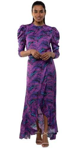 Panambi Purple Top & Skirt Co-Ord