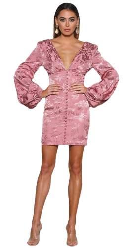 Elle Zeitoune Dusty Pink Samuel Mini Dress