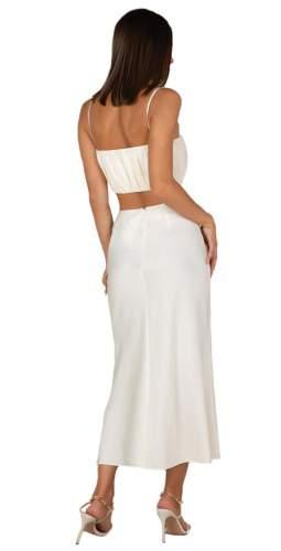 Misha Ivory Elysia Top & Iva Skirt Co-Ord