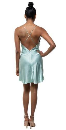 Bec + Bridge Duck Egg Valentina Mini Dress