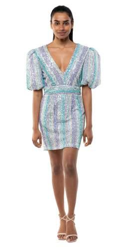 Saylor Indira Sequin Mini Dress