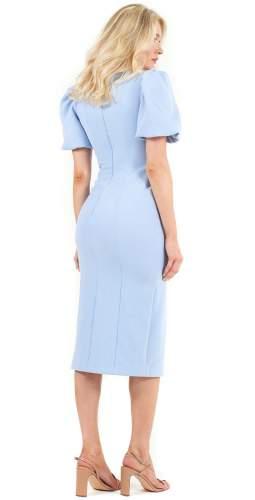 C/MEO Collective Blue Good Thing Midi Dress