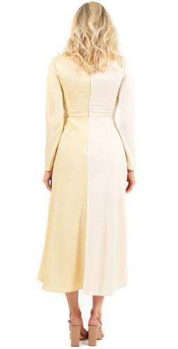 C/MEO Collective Opposite Sides Long Sleeved Midi Dress