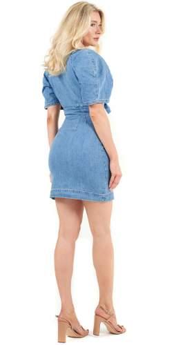 Finders Keepers Paloma Denim Mini Dress