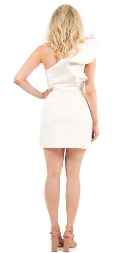 Keepsake The Label Creme Resolve Mini Dress