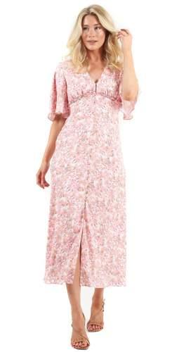 Keepsake The Label Rose Blossom Blaze Midi Dress