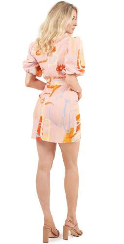 Finders Keepers Collage Mini Dress