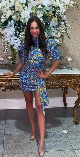 Saylor Floral Vivienne Mini Dress