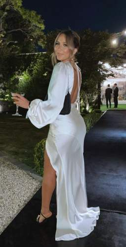 LEXI Pale Blush India Maxi Dress
